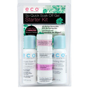 Eco Gel Soak Off  Starter Kit