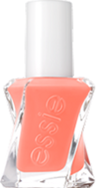 looks to thrill, melon orange essie gel couture nail polish