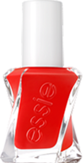 essie gel couture, flashed, red