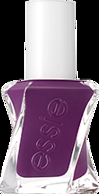 turn n' pose, purple essie gel couture nail polish