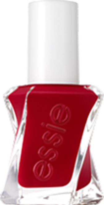 essie bubbles only gel couture red