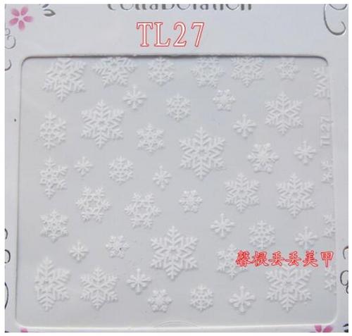 snowflake designs may vary