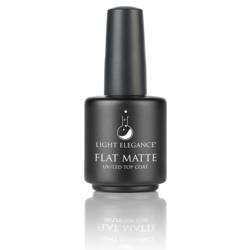 light elegance uv led matte top coat