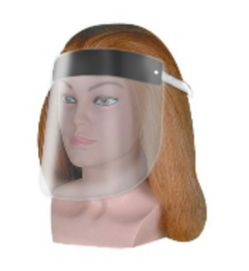 PPE acrylic face shield