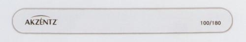 Akzentz Straight White Washable File