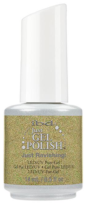 Just Ravishing! Just Gel Polish SKU: 56691 Details: Muted Yellow Just Gel Polish Finish: Glitter