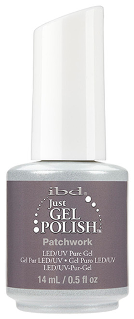 ibd just gel polish patchwork grey