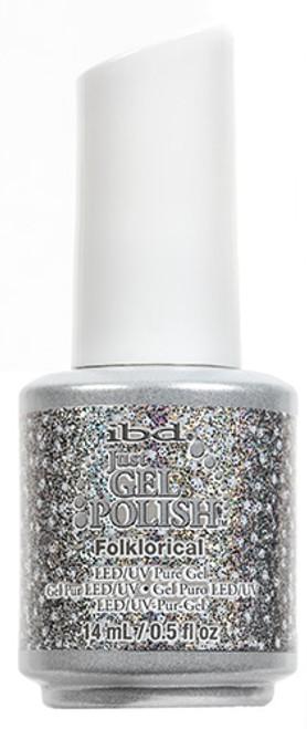 Folklorical Just Gel Polish SKU: 56855 Details: Gray Glitter Just Gel Polish Finish: Glitter
