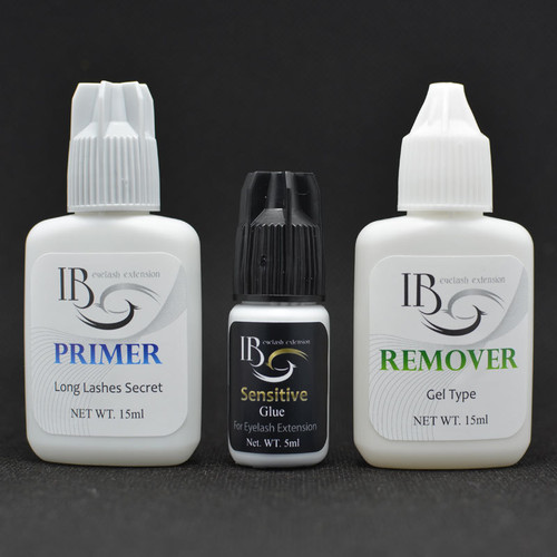 primer, 5g glue and remover (all sold separately) Pictured here