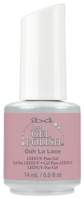 ibd just gel polish ooh la lace pink