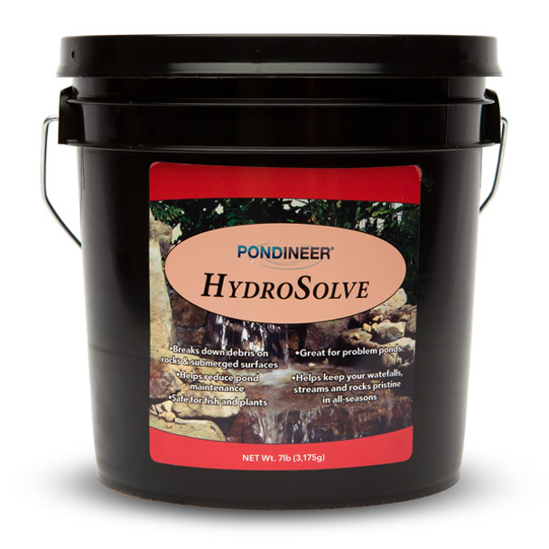 HydroSolve Waterfall and Rock Cleaner 50 lbs Dry