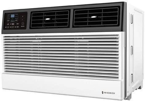 Friedrich 14,000 BTU 230V Smart Thru-The-Wall Air Conditioner with 10600 BTU Electric Heat