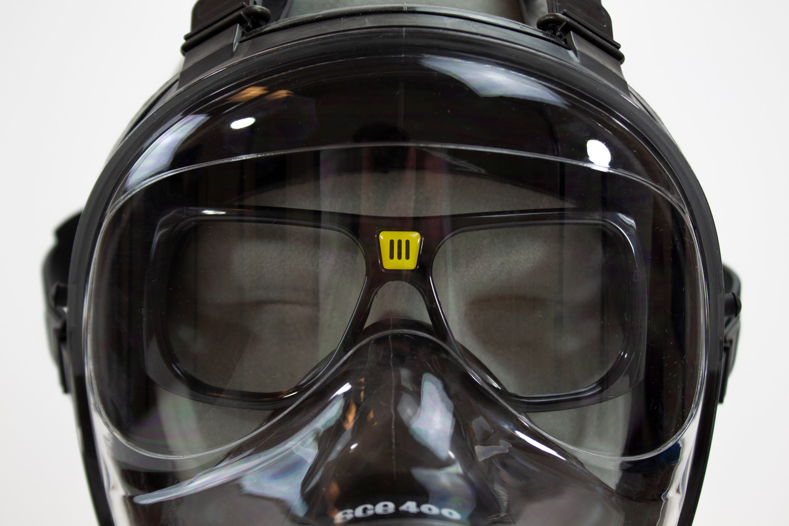 Optical lens Support for Safety Protection Equipment Gas Masks