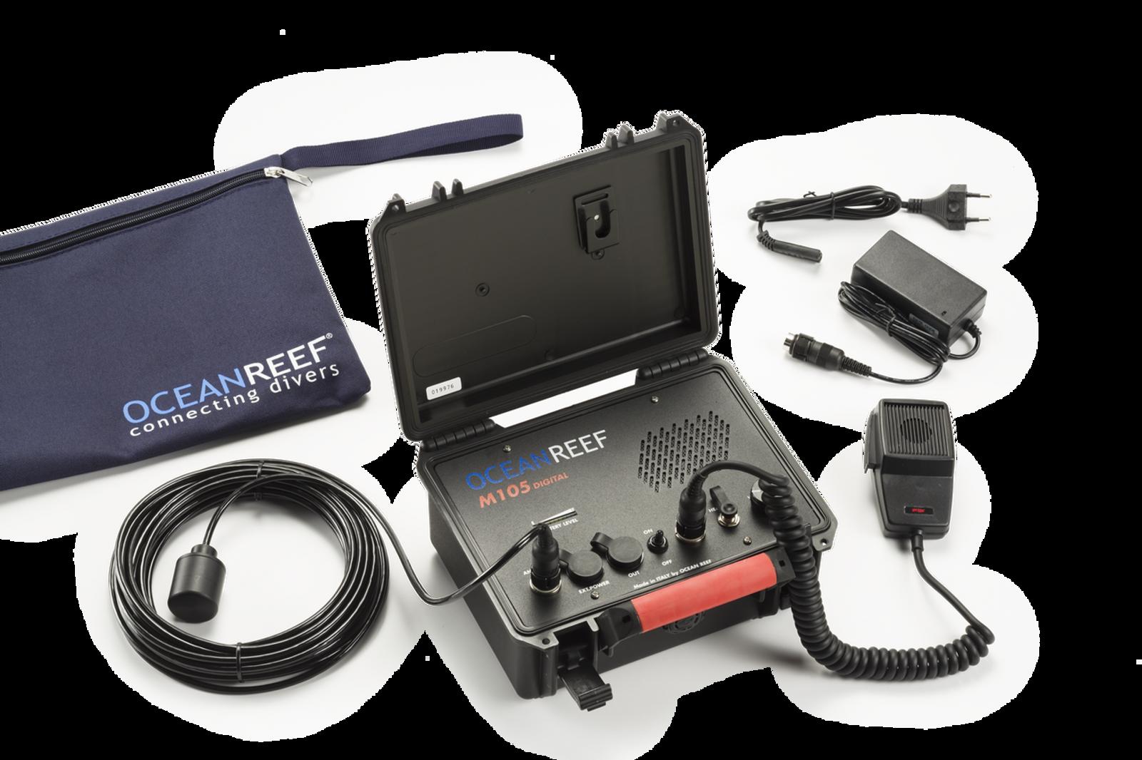 M-105 Digital Transceiver Surface Unit W/battery tester