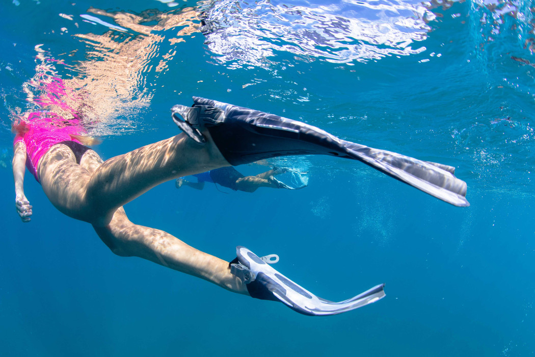 DUO TRAVEL SNORKELING FINS
