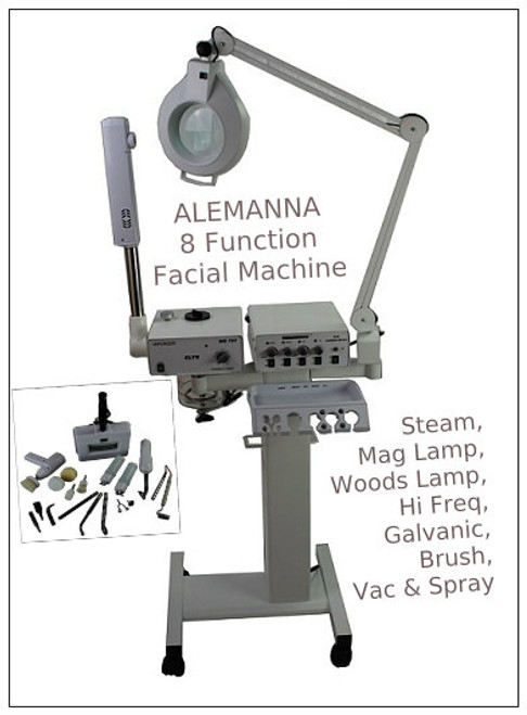 8 Function Facial Machine ALEMANNA*