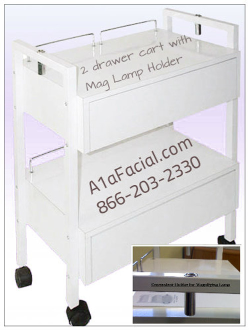 A1A-Trolley with 2 drawers
