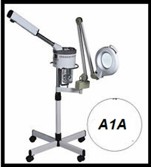 Steamer & Mag Lamp Combo with Heavy Base D-1000bm