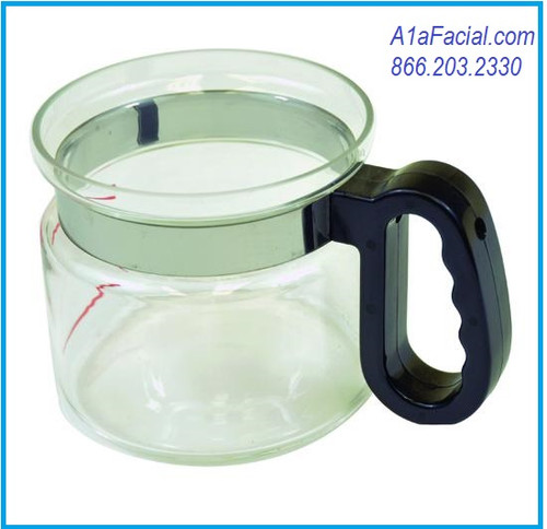 Replacement Glass Jar with Handle Athena Facial Steamer