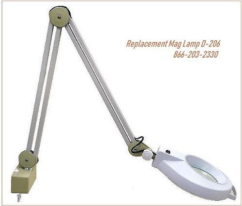 D-206 Replacement Magnifying Lamp