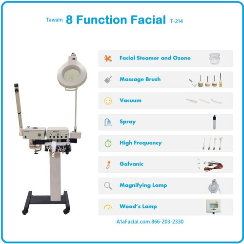 Tawain 8 Function Facial Unit