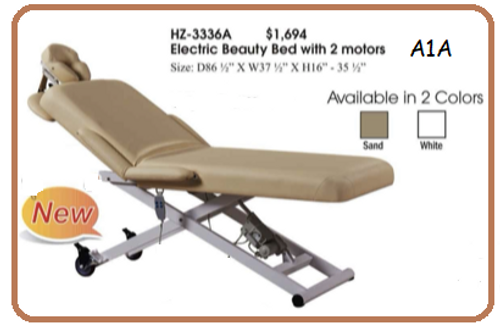 Massage Table with Electric Lift