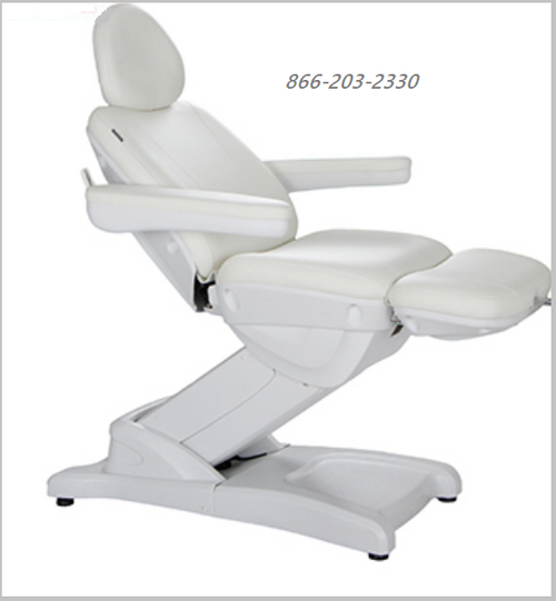 Electric Facial Bed White