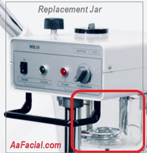 Glass jar For Milo-T-201 Facial Steamer