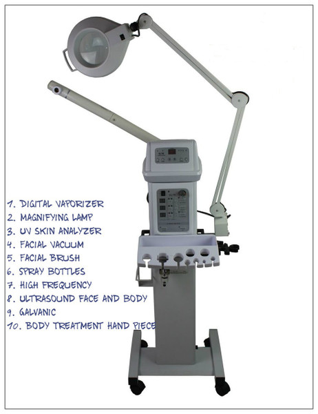 10 Function Facial Machine
