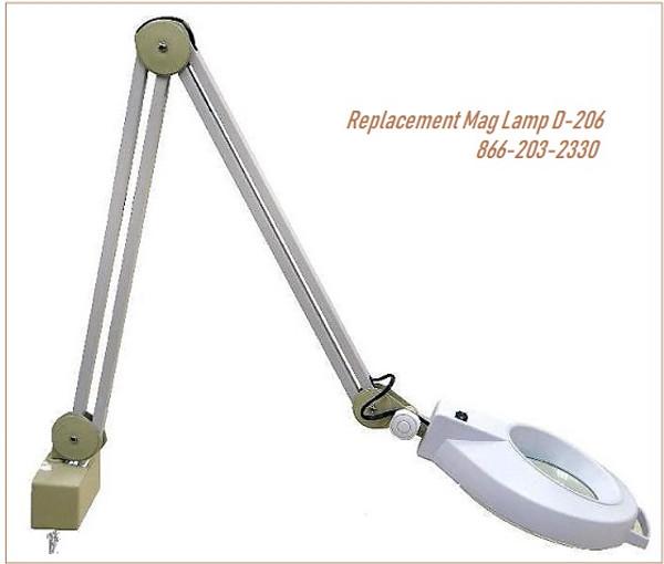 D-206 Magnifying Lamp