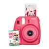 Fujifilm Instax Mini 8 w/10 Exposure Film - Raspberry