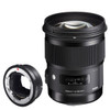 Sigma 50mm F1.4 Art DG HSM Canon + MC-11 Mount Converter