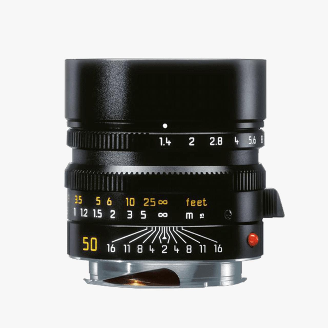 Leica Summilux-M 50mm F1.4 ASPH Black (11891)
