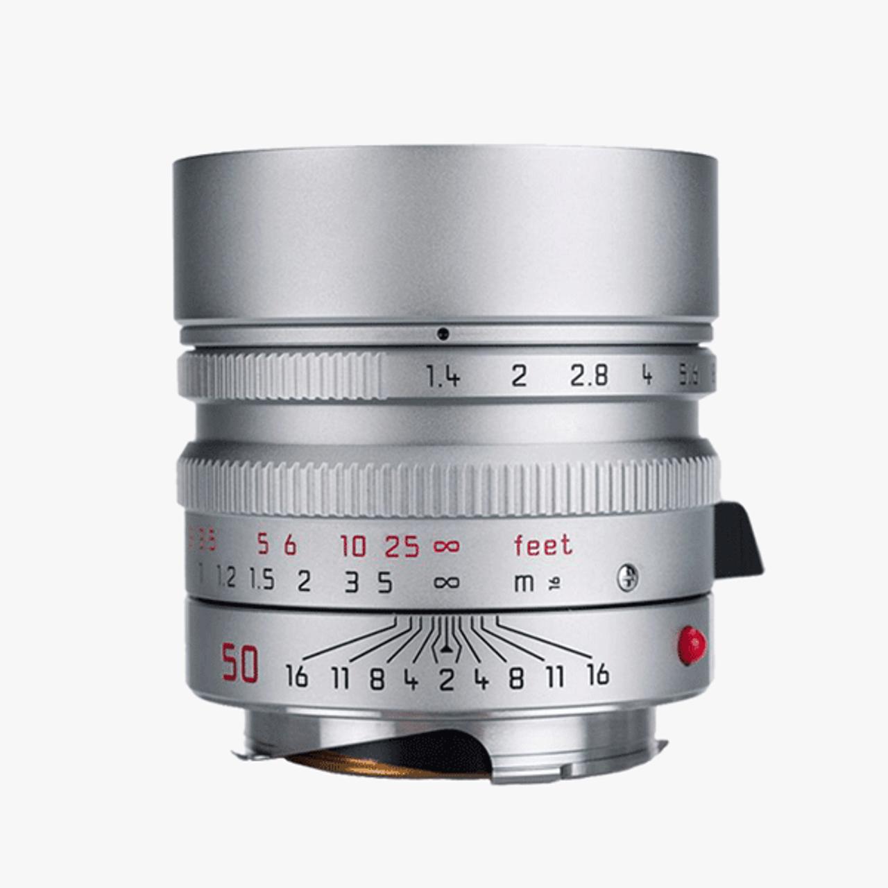 Leica Summilux-M 50mm F1.4 ASPH Silver (11892)