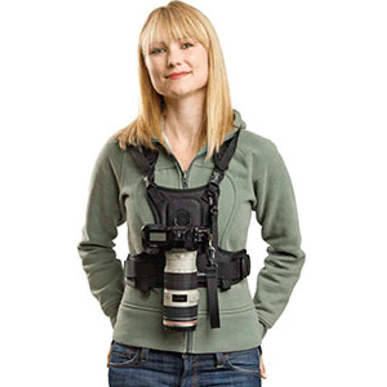 Cotton Carrier Vest 1 Camera - No Side Holster