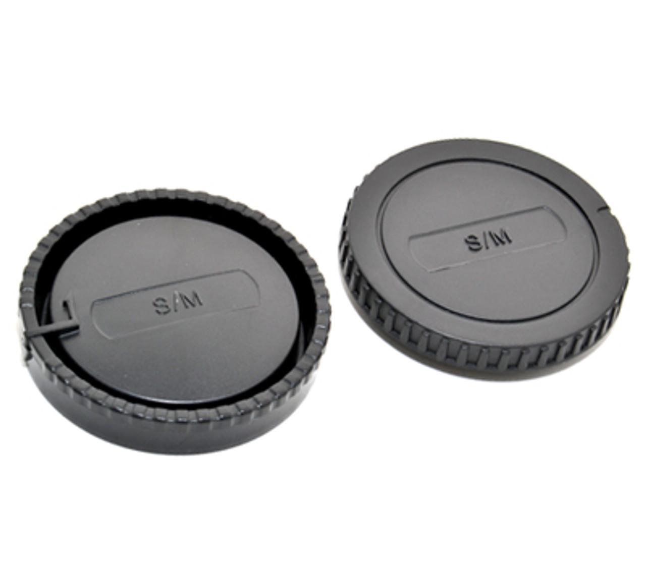 JJC L-R6 Front/Rear Lens Caps for Sony/Minolta