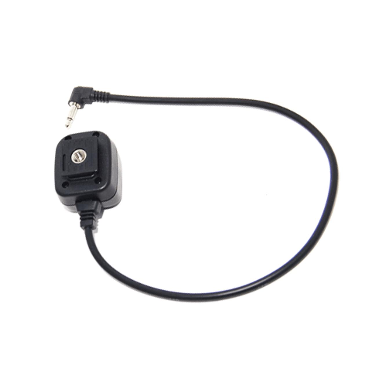 JJC PW-X2 Monoplug to Female Hot Shoe Cord