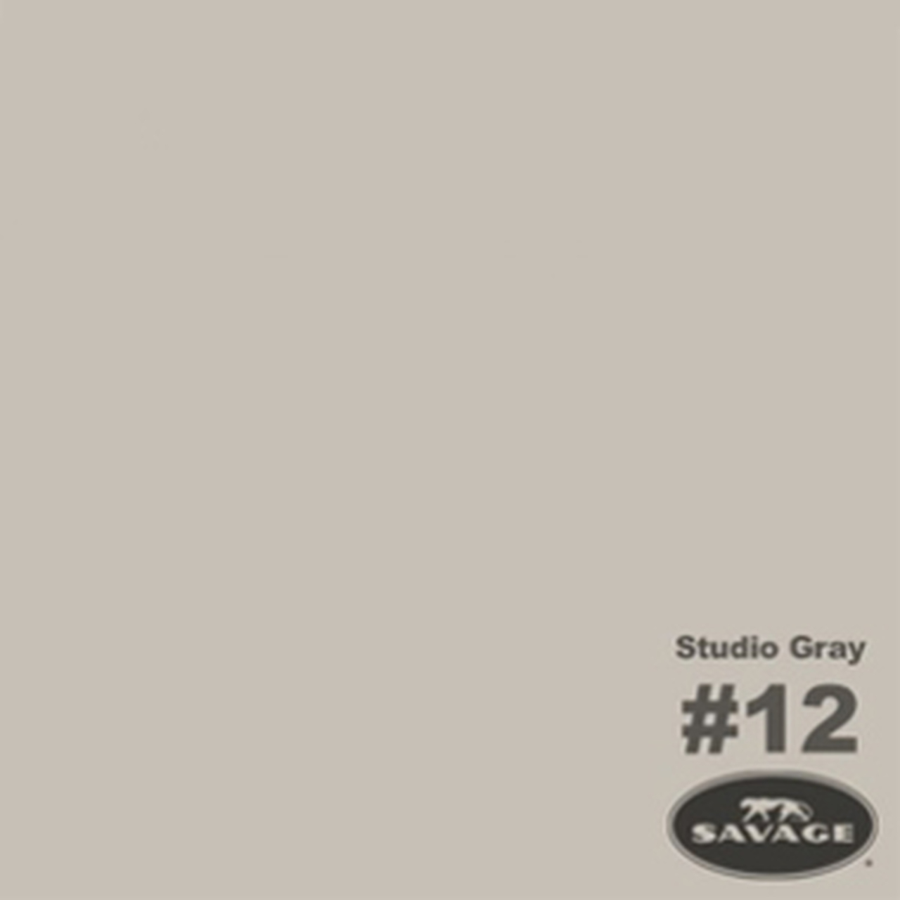 "Savage Background Paper 107"" x 12 yards Studio Grey"