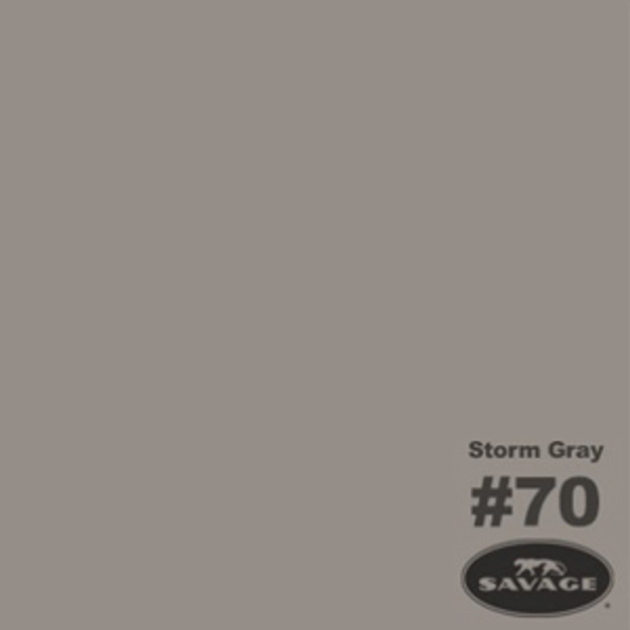 """Savage Background Paper 86"""" x 12 yards Storm Gray"""