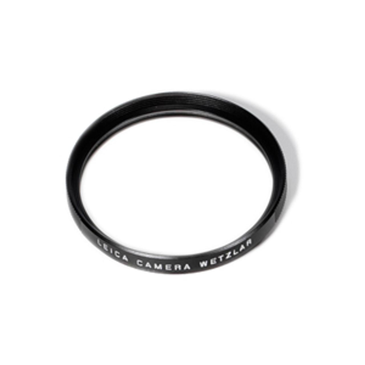 Leica E39 UV Filter Black