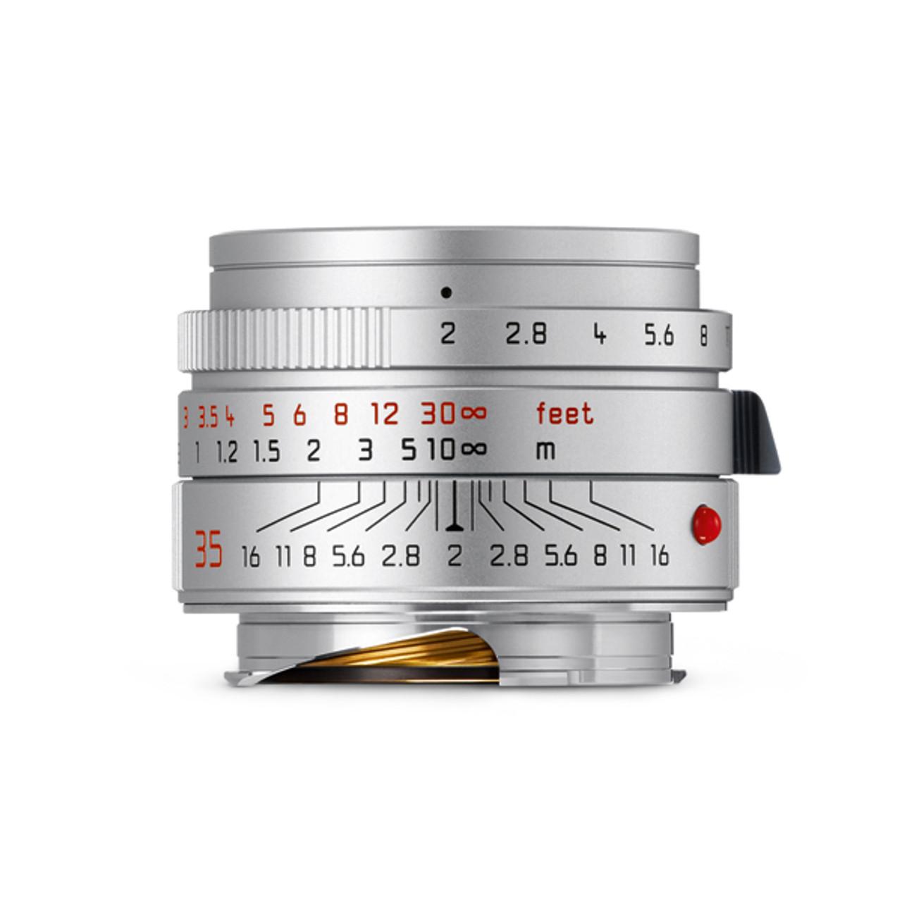 Leica Summicron-M 35mm F2 ASPH Silver (11674)
