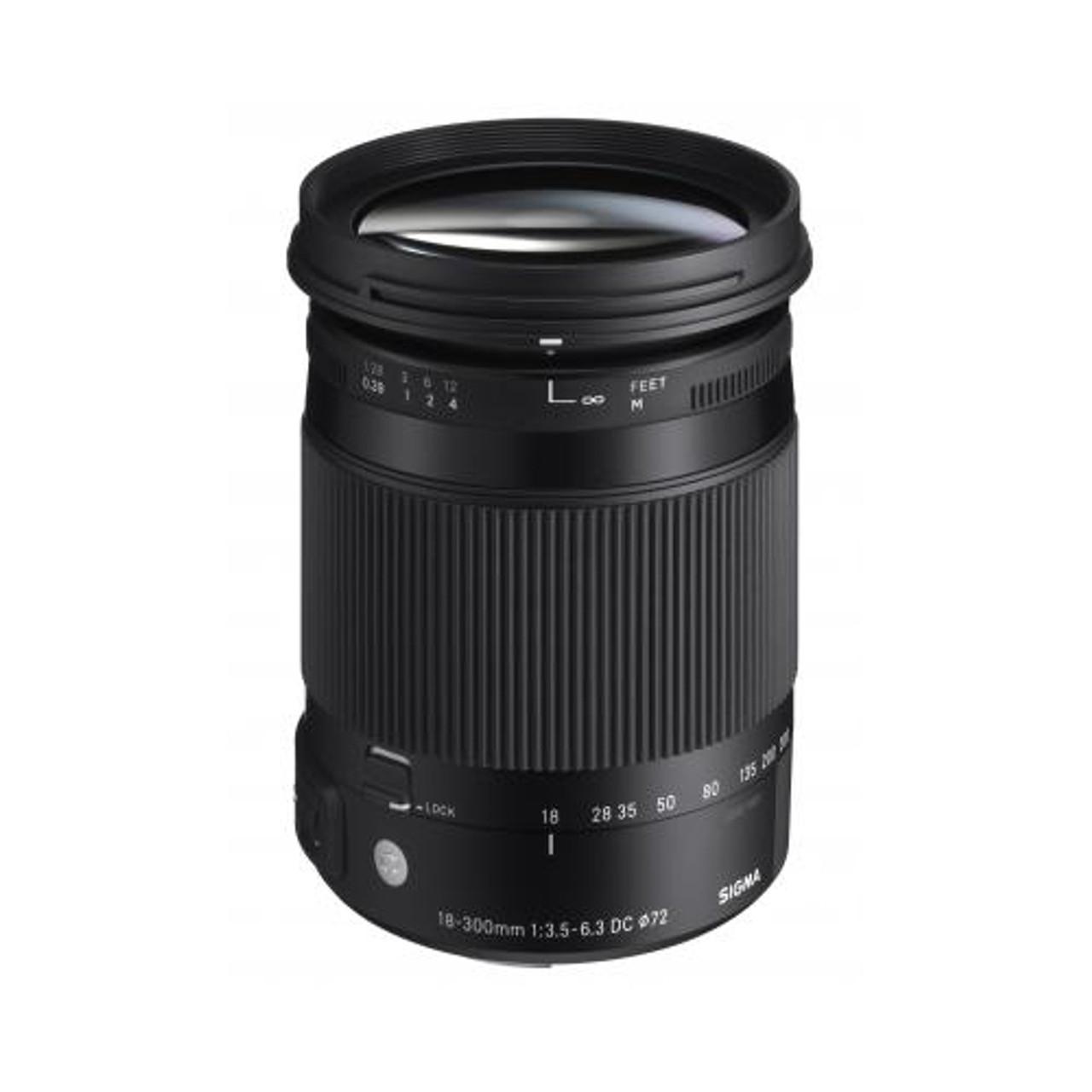Sigma 18-300mm F3.5-6.3 C DC Macro OS Canon
