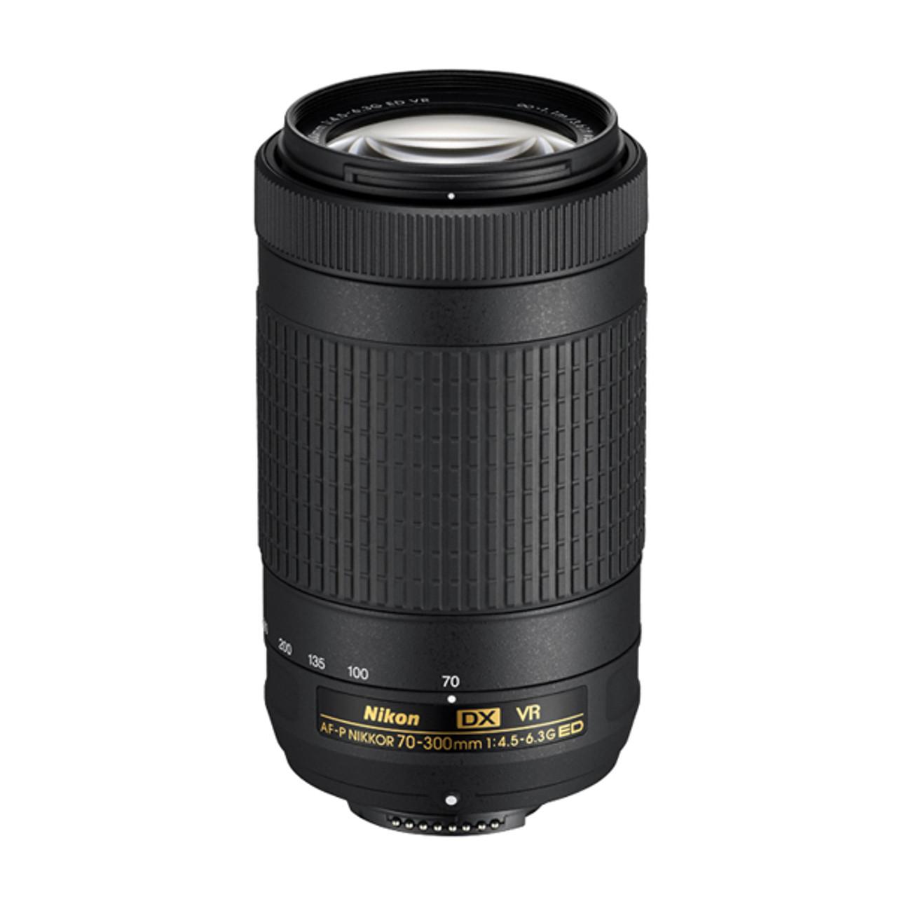 Nikon AF-P 70-300mm F4.5-6.3G ED VR DX