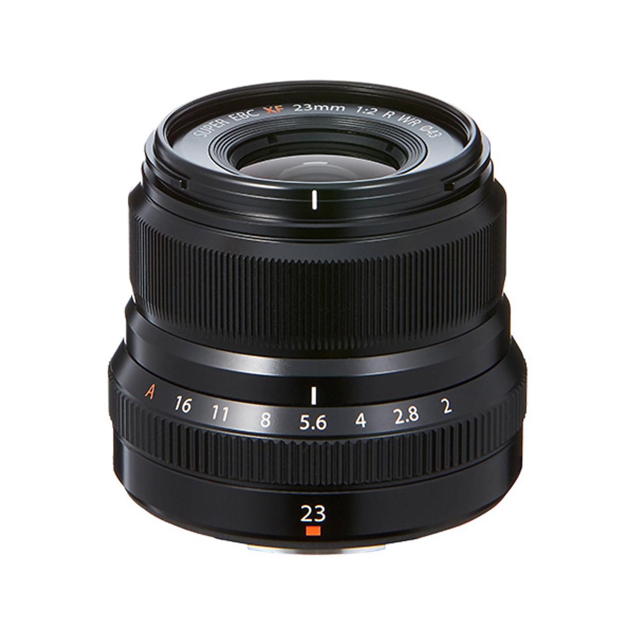 Fujifilm Fujinon XF 23mm F2 R WR Lens Black