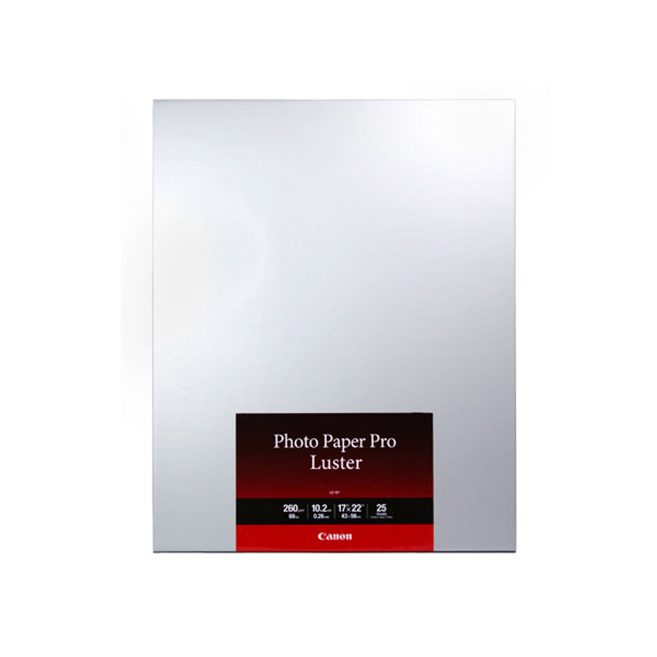 "Canon LU-101 17"" x 22"" Luster Photo Paper Pro (25 sheets)"