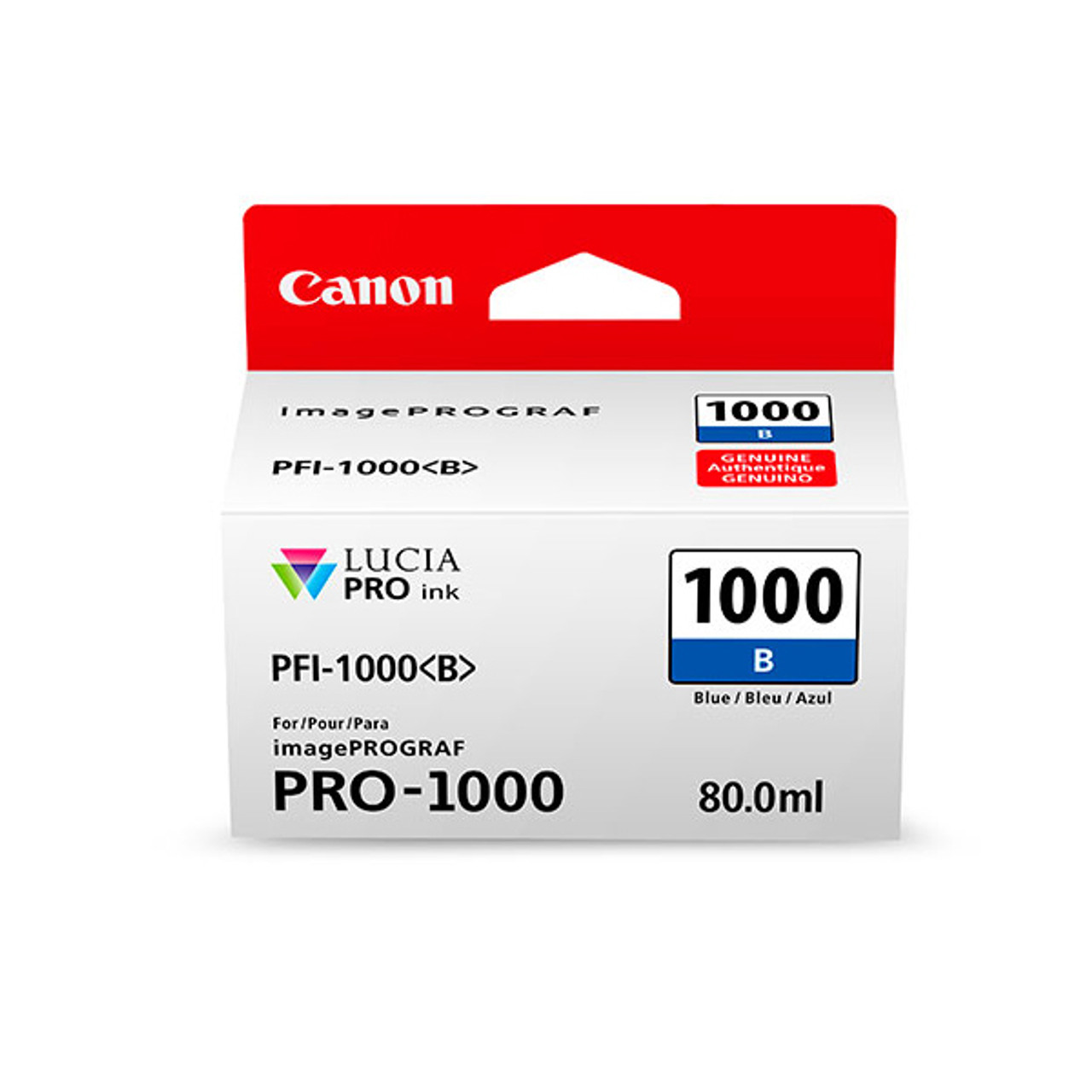 Canon PFI-1000 Blue Ink Cartridge