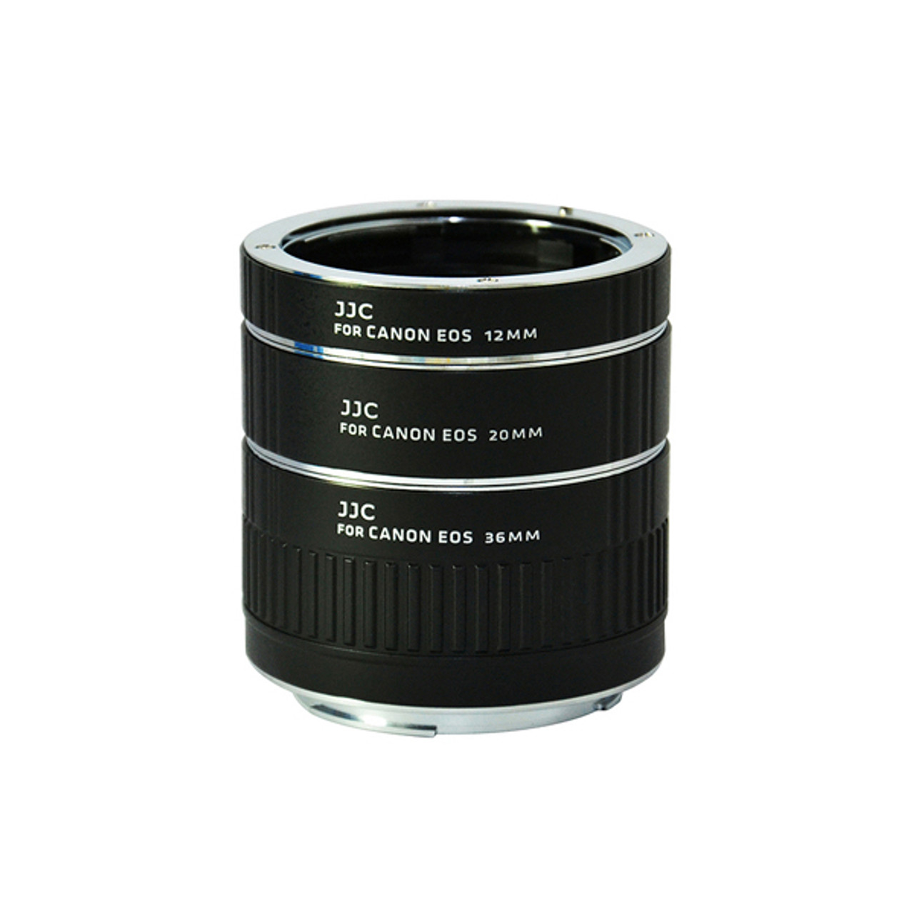 JJC Auto Focus Extension Tube for Canon EF Mount (12mm/20mm/36mm Set)