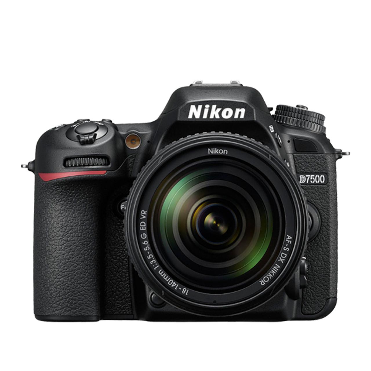 Nikon D7500 18-140mm F3.5-5.6G ED VR Kit