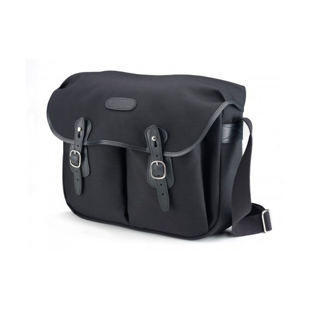 Billingham Hadley Large Black Canvas/Black Leather