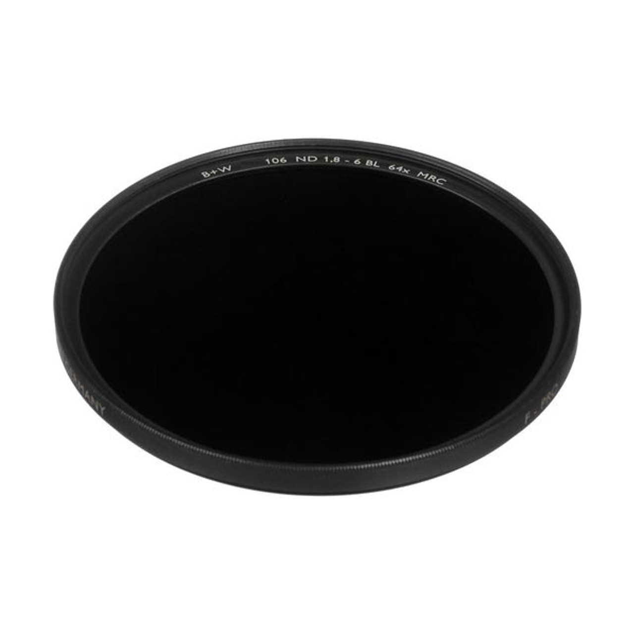 B+W 62mm ND 1.8 - 64x (106) Filter 10-Stop